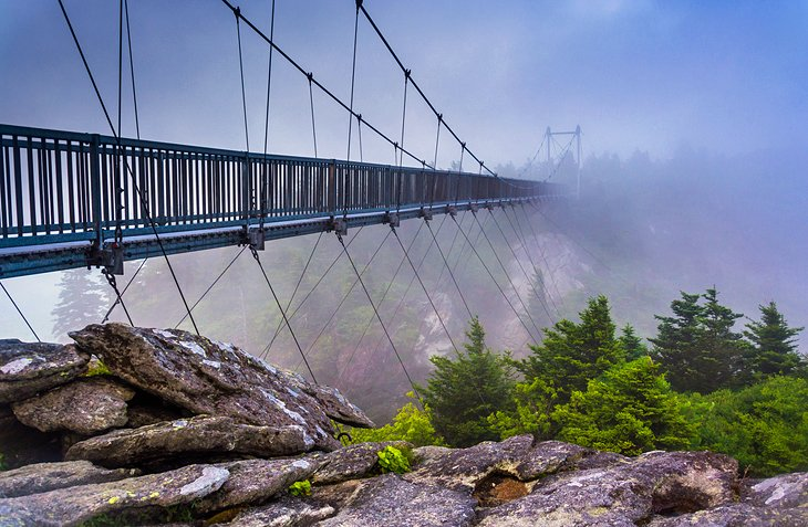 Mile-High Swing Bridge, Grandfather Mountain