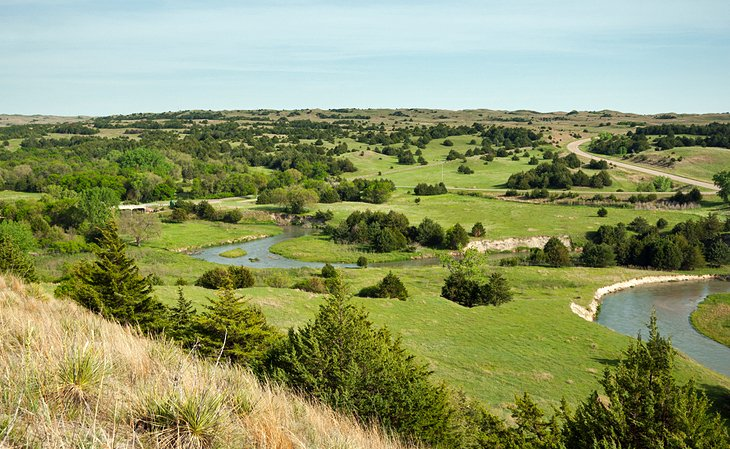 A Scenic Driving Tour of the Sandhills