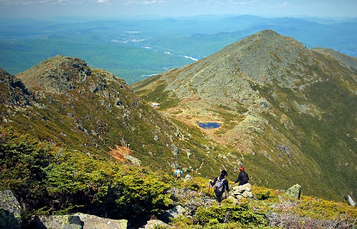 TopRated Hiking Trails In New Hampshire PlanetWare - Appalachian trail new hampshire map