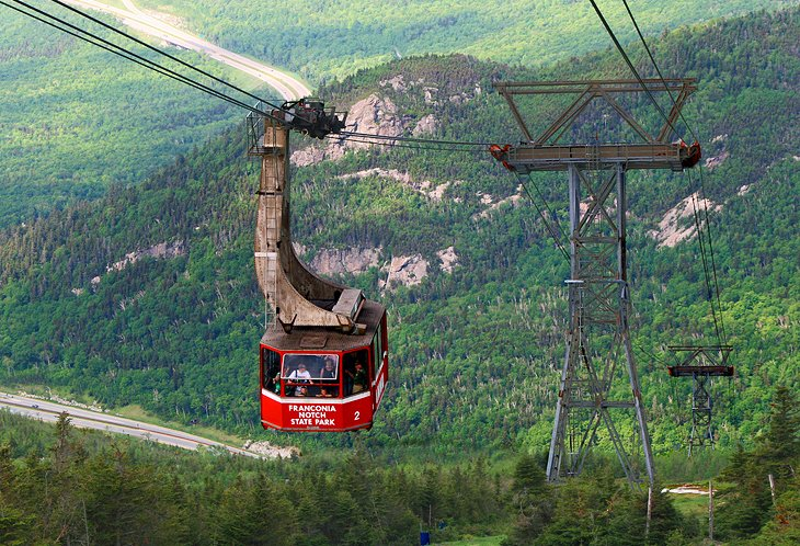 Cannon Mountain Aerial Tramway and Franconia Notch