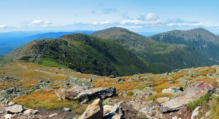 Appalachian Trail across the Presidential Range