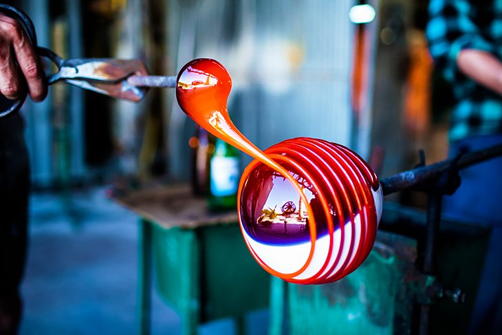 Handmade Glass Blowing and Decorating