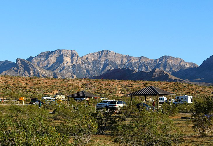Red Rock Canyon Campground