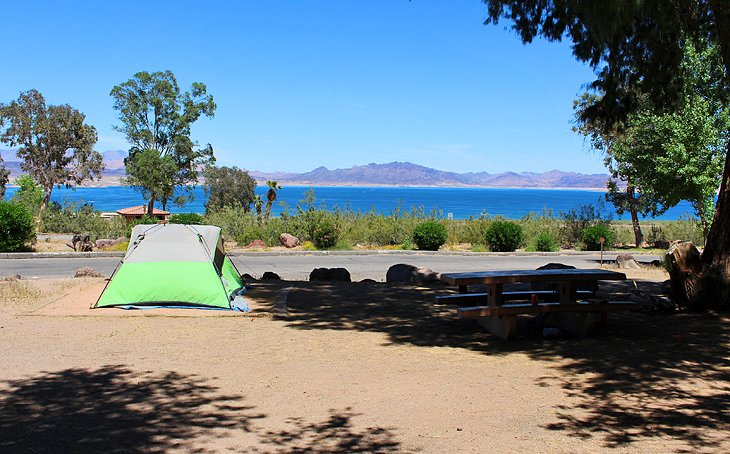 Boulder Beach Campground at Lake Mead