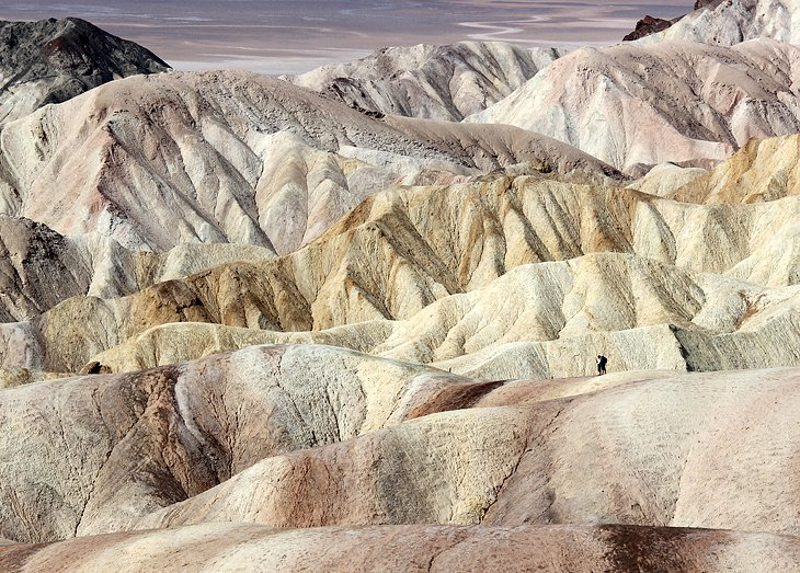 Golden Canyon, Gower Gulch, and Badlands Loop Hikes in Death Valley National Park