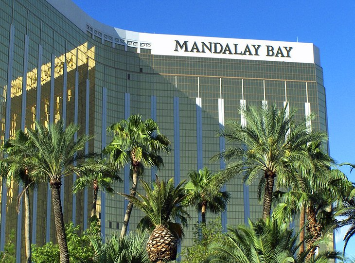 Mandalay Bay and the Shark Reef Aquarium
