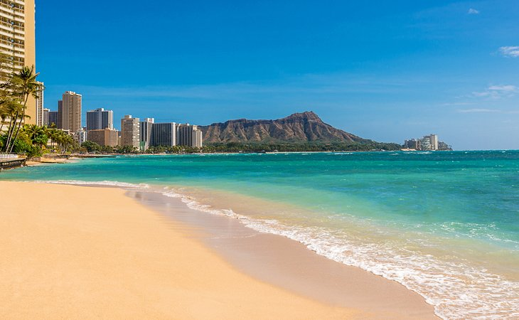 Waikiki -15 Best Places to Visit in the United States