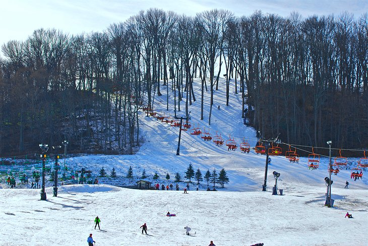Zona de esquí perfecta de North Slopes
