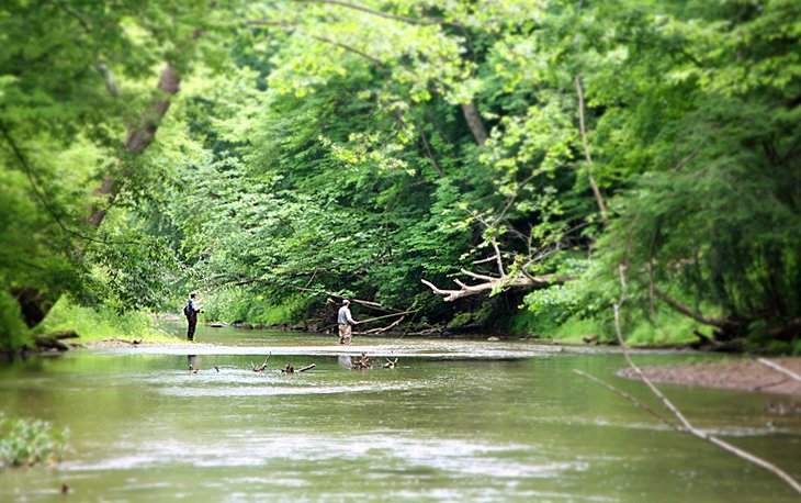12 top rated outdoor adventures in ohio planetware for Fly fishing ohio