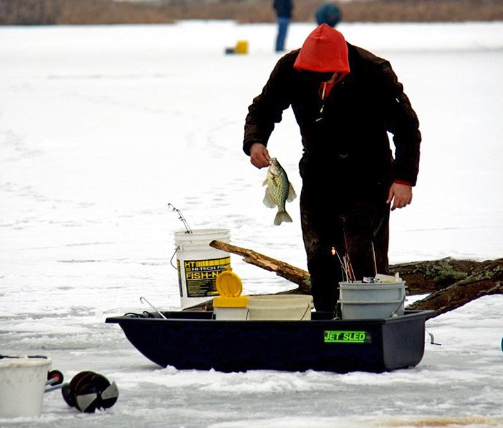 9 best ice fishing lakes in ohio planetware for Indian lake ohio fishing