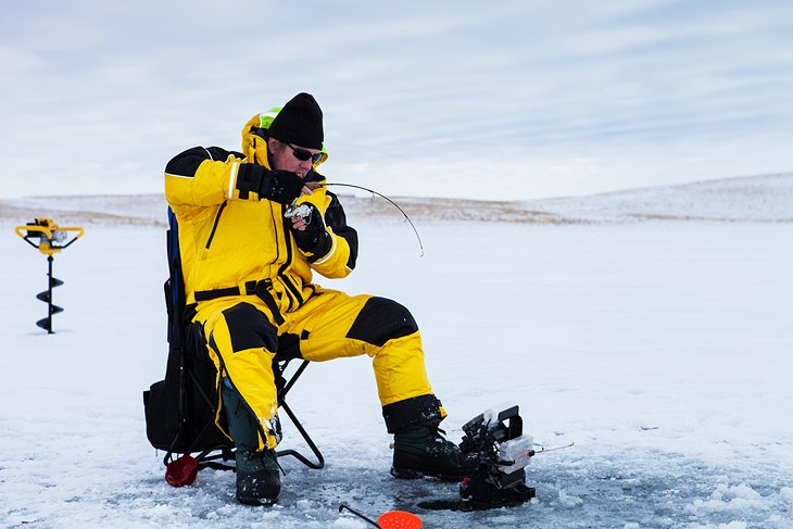 9 best ice fishing lakes in ohio | planetware, Fish Finder