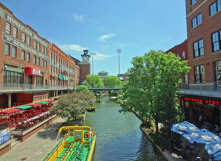 Canal in Bricktown