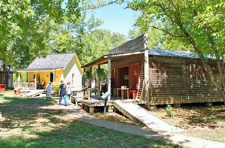 Centro del patrimonio Cherokee