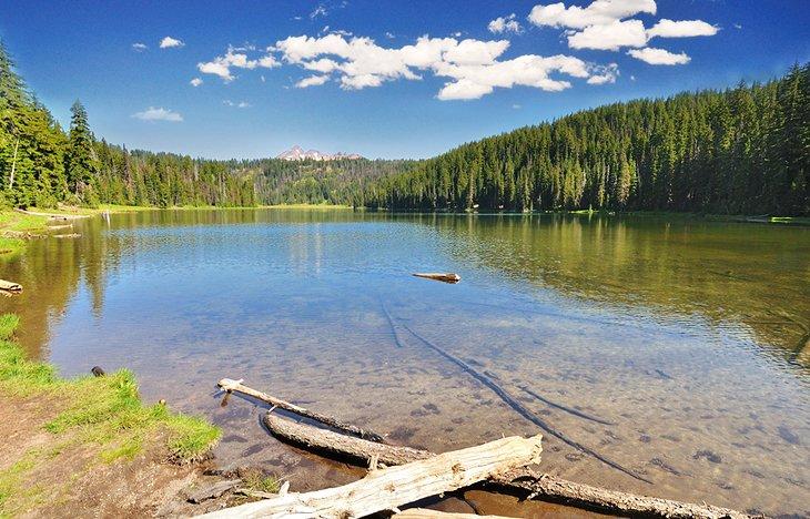 Sendero del lago Todd