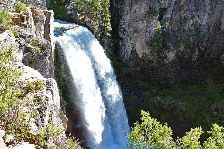 Tumalo Falls a Upper Falls