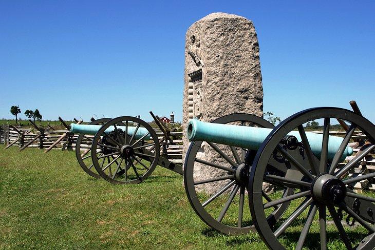 Parque Militar Nacional de Gettysburg
