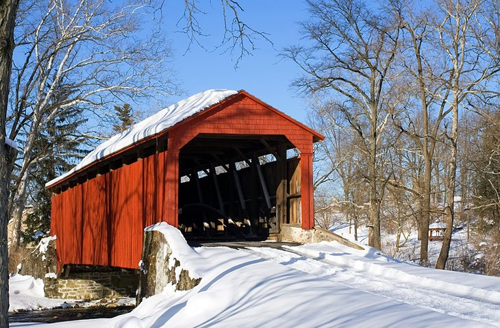 Covered bridge in Lancaster County