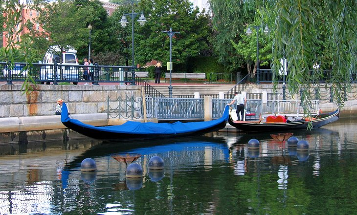 Gondola at Waterplace Park