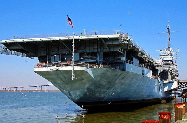 USS Yorktown and Patriots Point