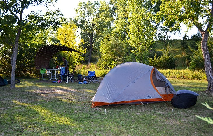 Lake Vermillion Recreation Area Campgrounds