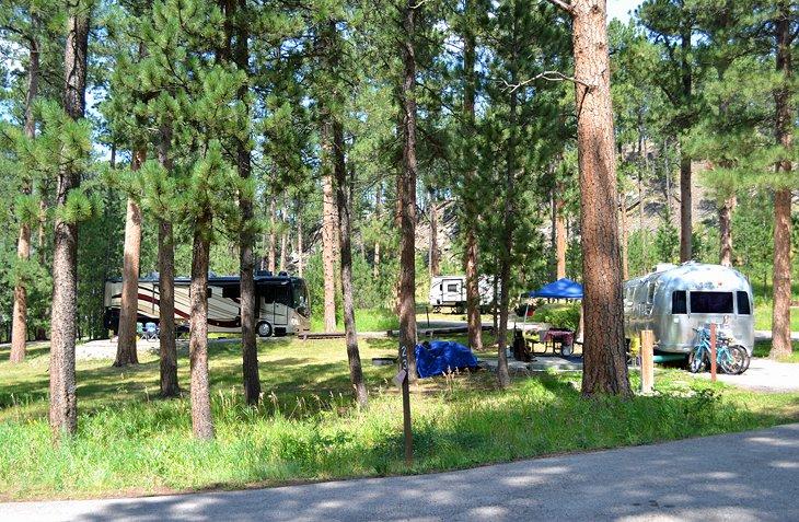 Campamento en Oreville