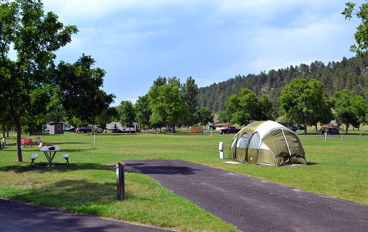 Game Lodge Campground, Custer State Park