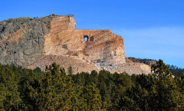Crazy Horse Memorial, near Horse Thief Campground and RV Resort