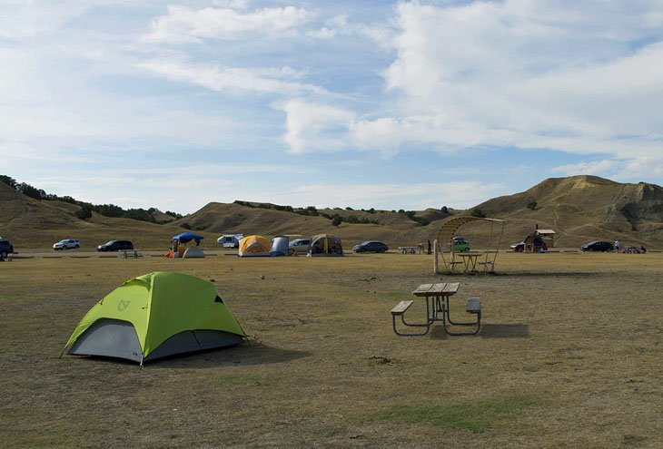 Sage Creek Campground, Badlands National Park