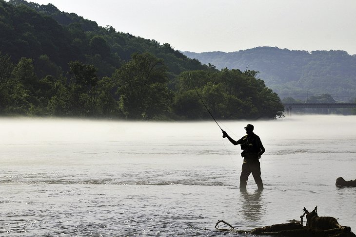 Fly Fishing Tennessee Map.12 Top Rated Fly Fishing Destinations In Tennessee Planetware