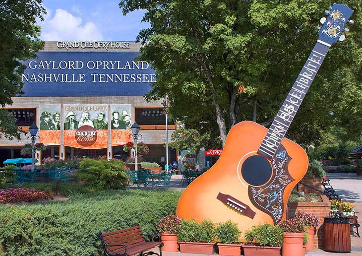 14 Top Tourist Attractions in Nashville – Tourist Attractions Map In Nashville