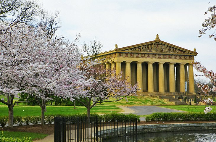 14 Top Tourist Attractions in Nashville – Nashville Tourist Attractions Map