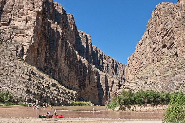 Canoeing on the Rio Grande