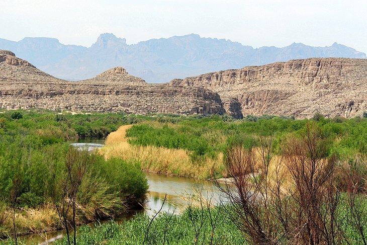 Sendero natural en Rio Grande Village