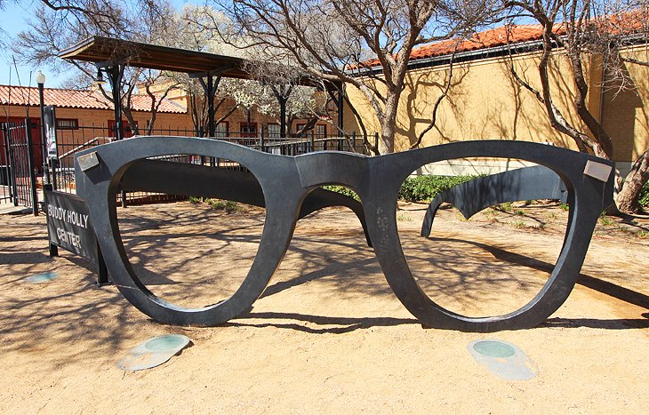 Buddy Holly Center, Statue, and West Texas Walk of Fame