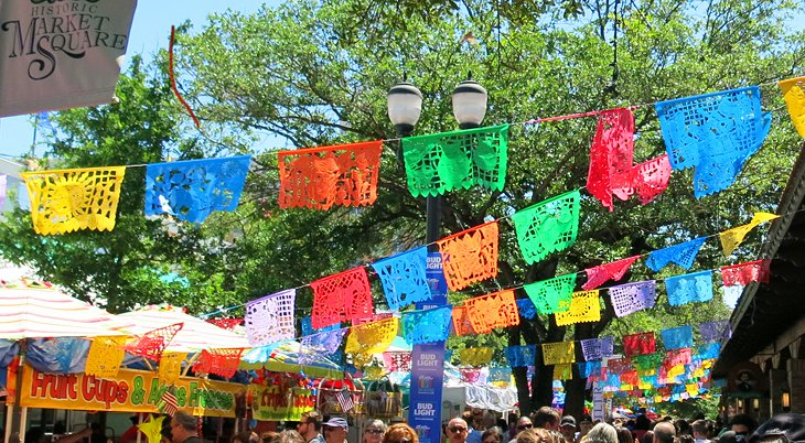 Fiesta celebrations at Market Square