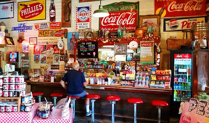 General Store in Gruene Historic District, New Braunfels