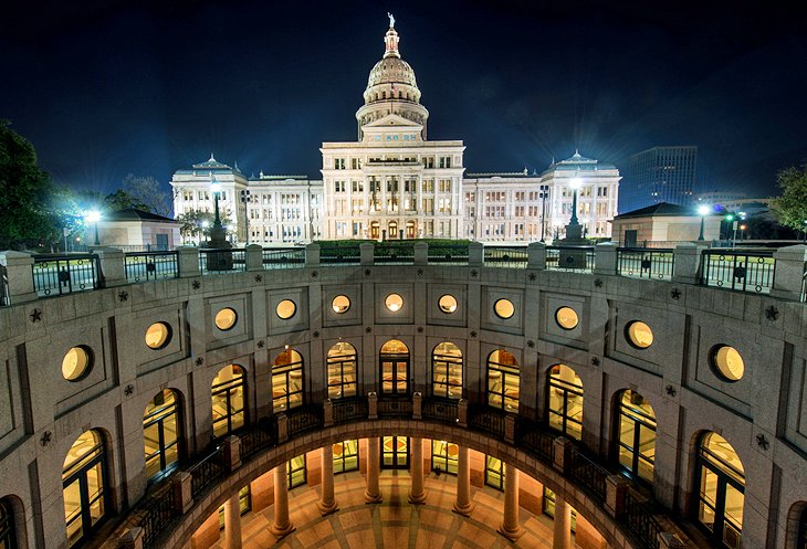 10 Top Tourist Attractions in Austin and Easy Day Trips – Austin Tourist Map