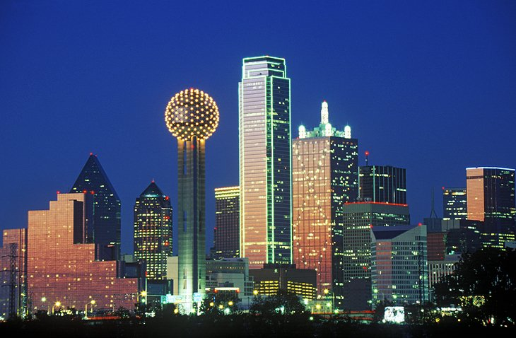 10 Top Tourist Attractions in Dallas and Easy Day Trips – Dallas Tourist Attractions Map