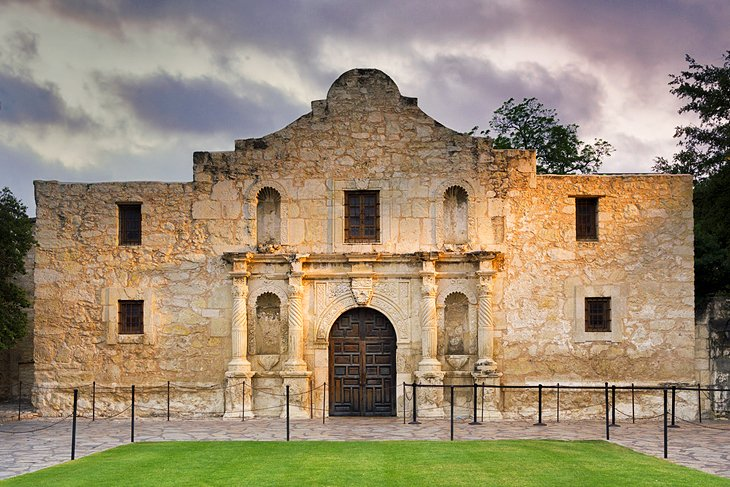 The Alamo Mission in San Antonio