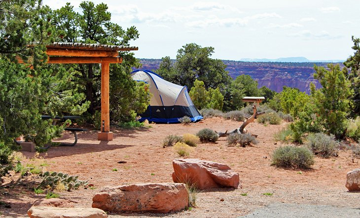 Canyonlands National Park, Island in the Sky District: Willow Flats Campground