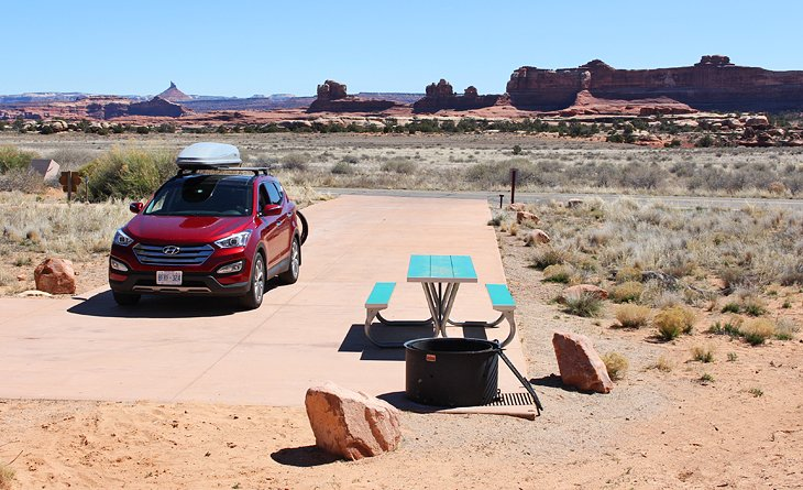 Canyonlands National Park, The Needles District: Squaw Flat Campground