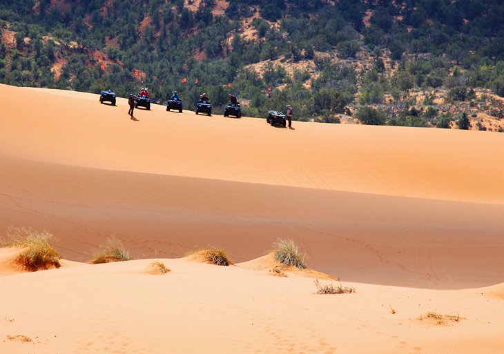 Parque Estatal Coral Pink Sand Dunes