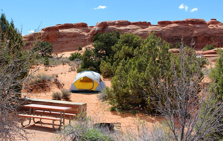 Arches National Park, Devils Garden Campground