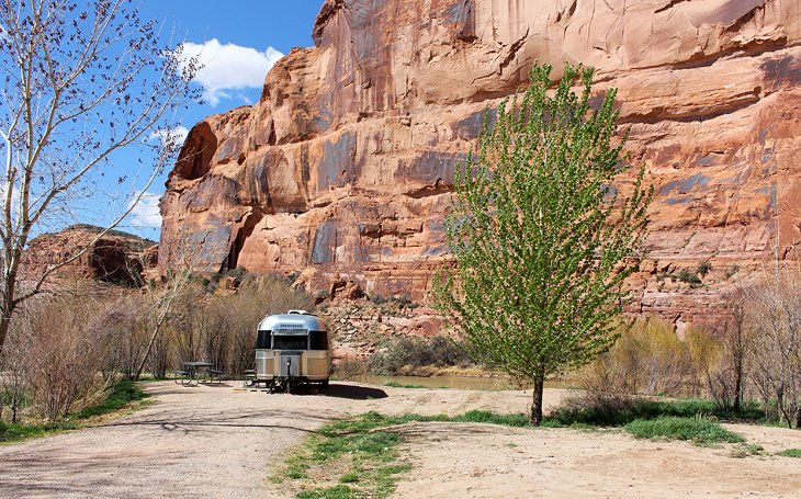 Campgrounds along the Colorado River