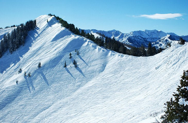 9 top rated ski resorts in utah 2018 planetware for Affitto cabina park city utah