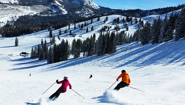 Station de ski de la solitude