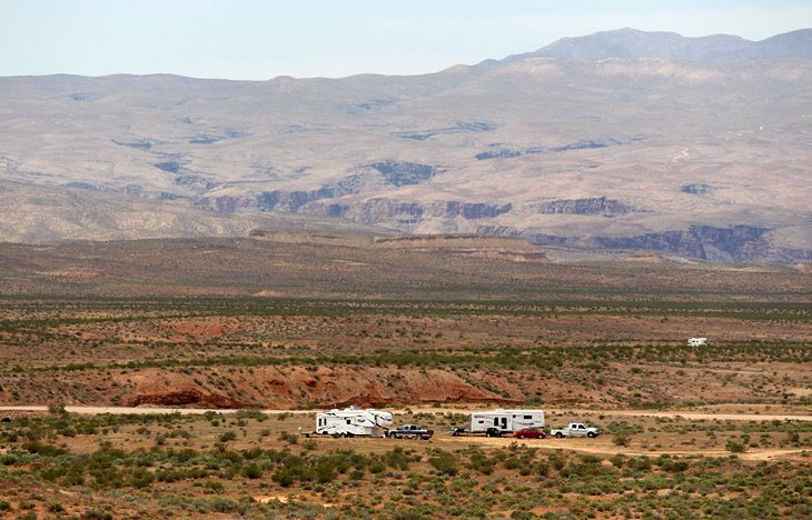 BLM Camping: Dispersed Campsites around St. George