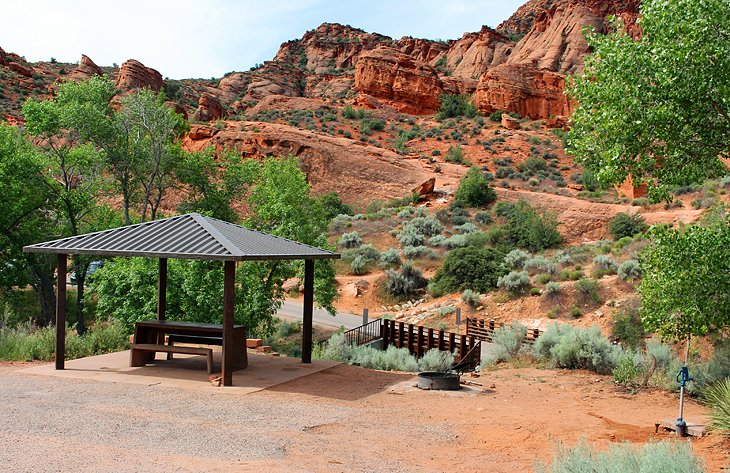 Red Cliffs Recreation Area Campground