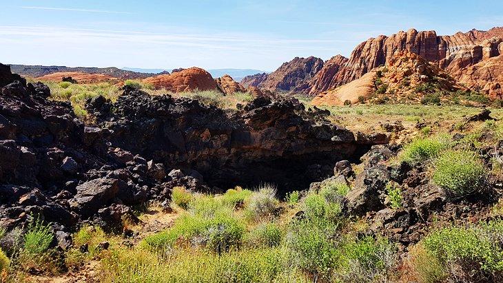 Lava Flow Trail, Snow Canyon