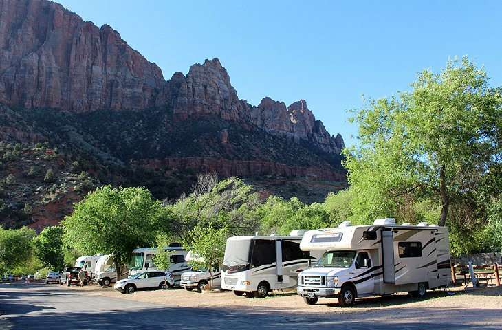 3 Zion Canyon Campground And RV Resort
